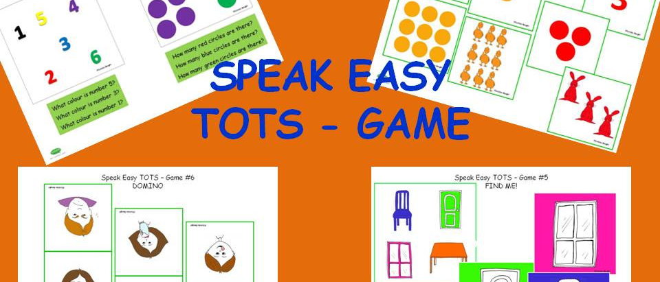 Speak Easy Tots - 6 Games