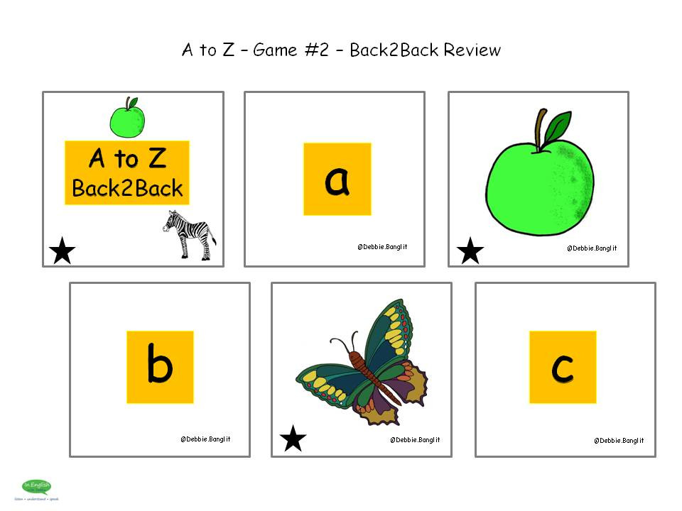 A to Z - Game 2