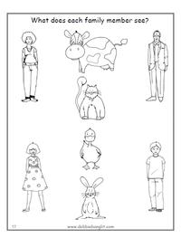 ESL Speak Easy Tots - Animals and Family