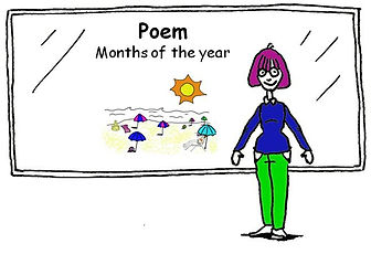 English vocabulary Poem - Months of the Year