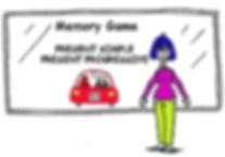 ESL Grammar Present Simple and Present Progressive Memory Game