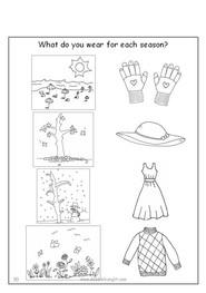 ESL Speak Easy Tots - Clothes and Seasons