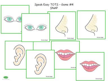 ESL Speak Easy Tots - Game 4
