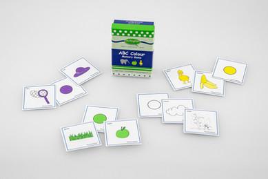 DebbieBAnglit - ESL Card Game - ABC Colour