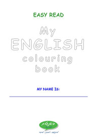 Easy Read Colouring Book