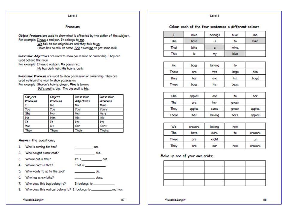 Level 3 DebbieBanglit - Pages 87 & 88
