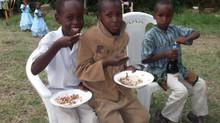 Construcción de la escuela infantil y comedor.