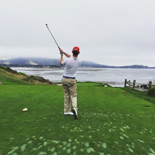 Number 7 at Pebble.