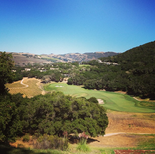 Carmel Valley Ranch Golf Course.