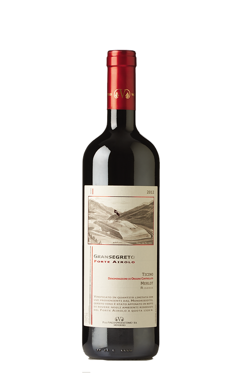 Valsangiacomo Vini - Ticino DOC Gransegreto Forte Airolo 2015