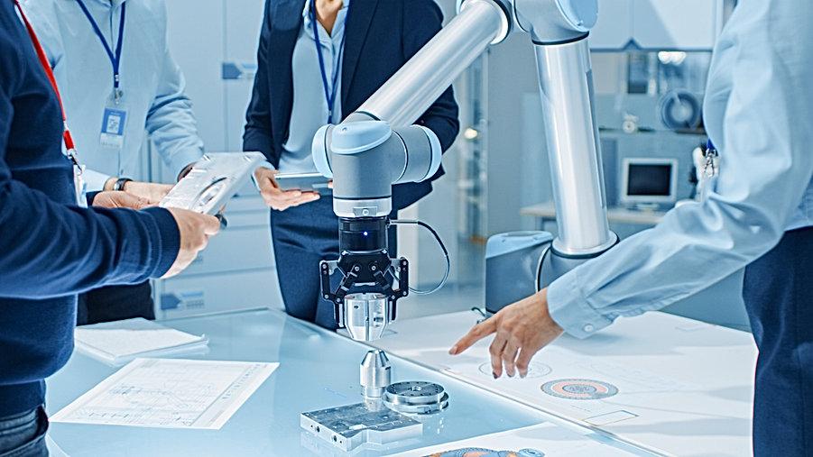 Team of Industrial Robotics Engineers Ga