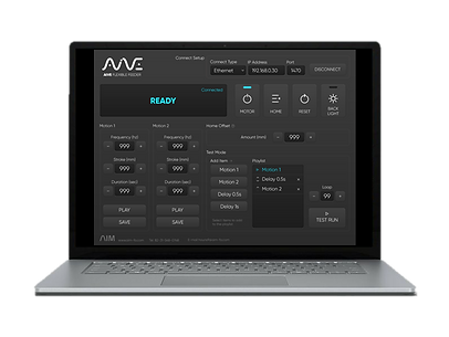 Flexible feeder AIVE user interface