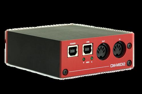 CM-MIDI2 Compact RTP-MIDI Transceiver with USB