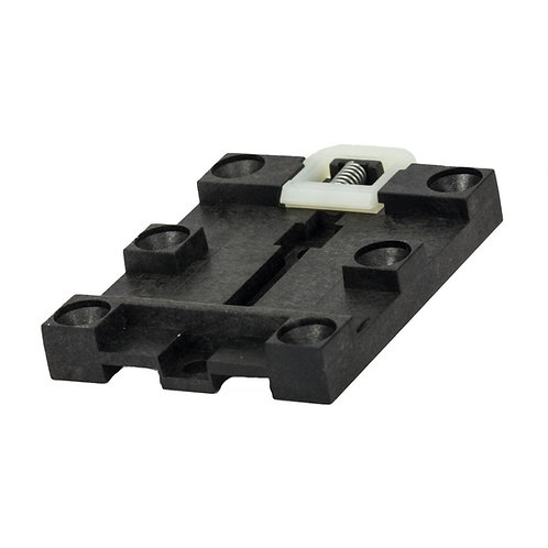 DINRM1 DIN-Rail mounting bracket - Plastic