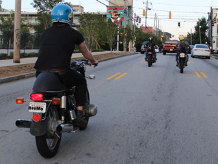 Riding in Atlanta: Potholes and Middle Fingers