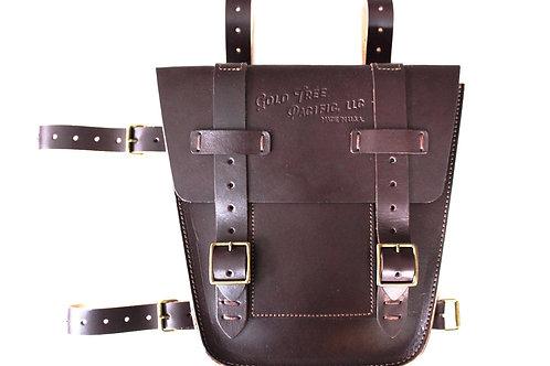 Dark Brown - Moto Bag Pair