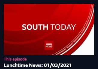 ***STOP PRESS***BBC SOUTH TODAY***