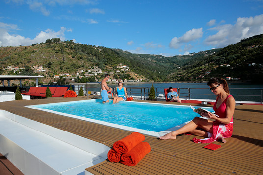 Sun Deck with Pool