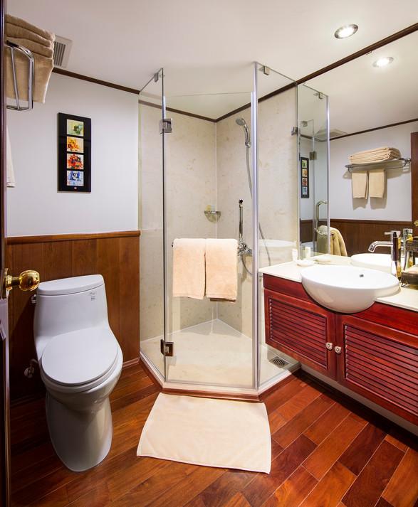 Stateroom Bathroom