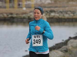 Johanna Håland første offisielle deltaker