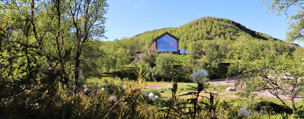 Snowhotel Kirkenes Restaurant in summer