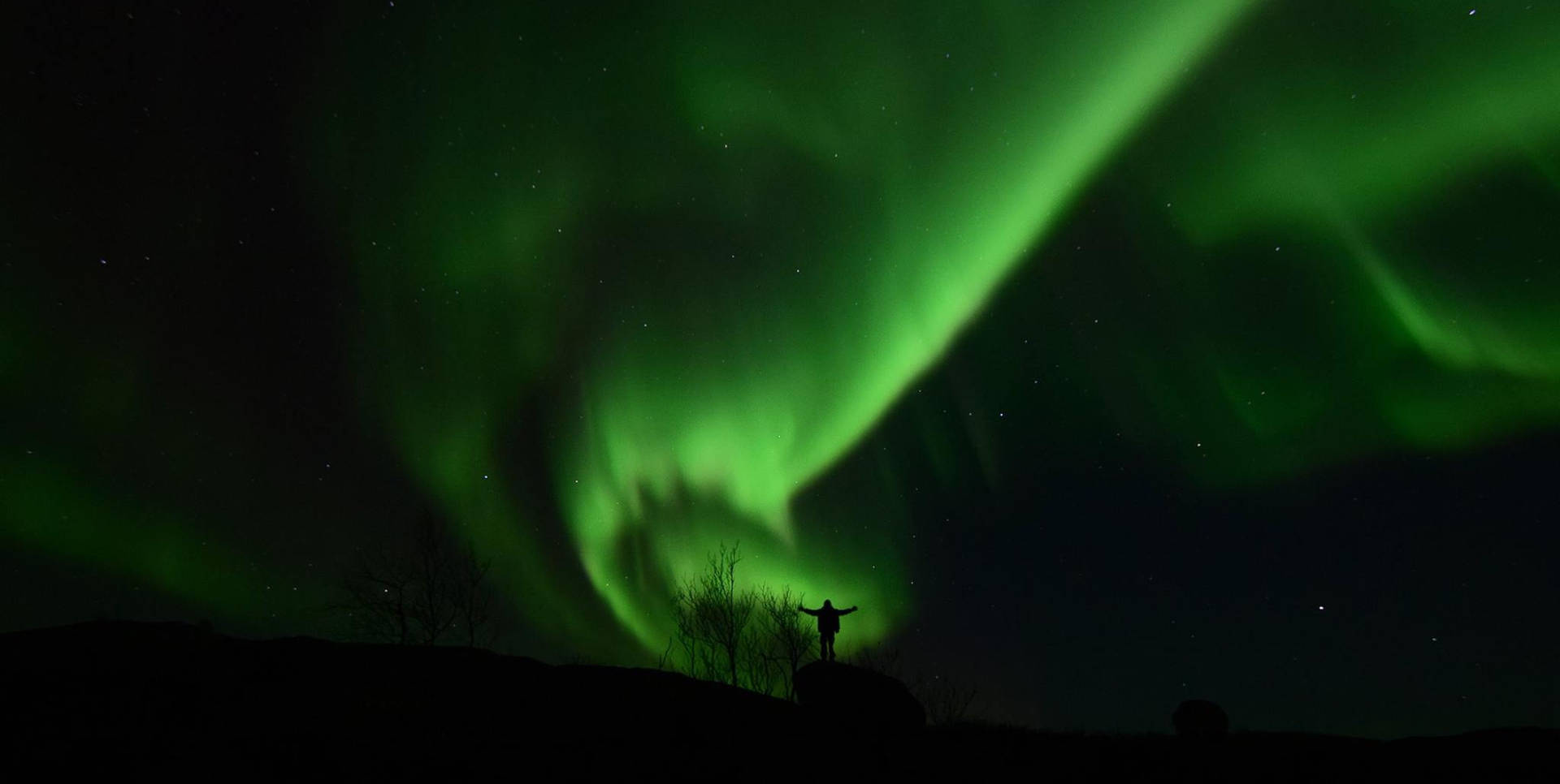 Autumn Northern Lights Kirkenes