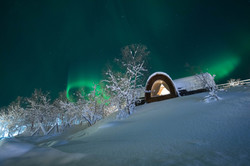 Gamme cabin northern lights