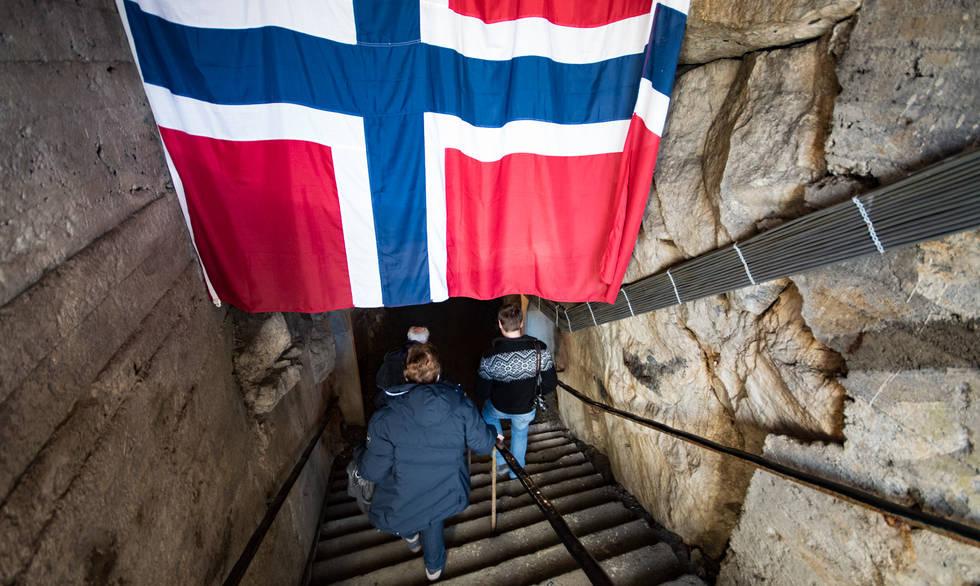 Andersgrotta WW2 bomb shelter, Kirkenes