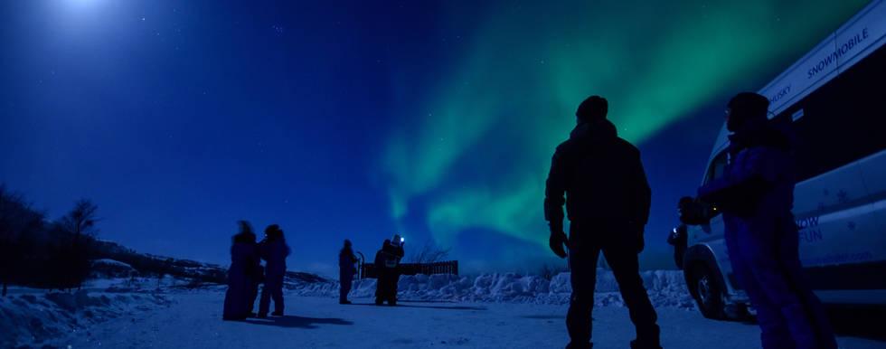 We found the aurora in Kirkenes!