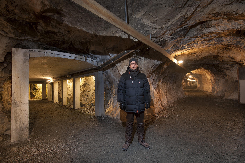 Kåre in Andersgrotta