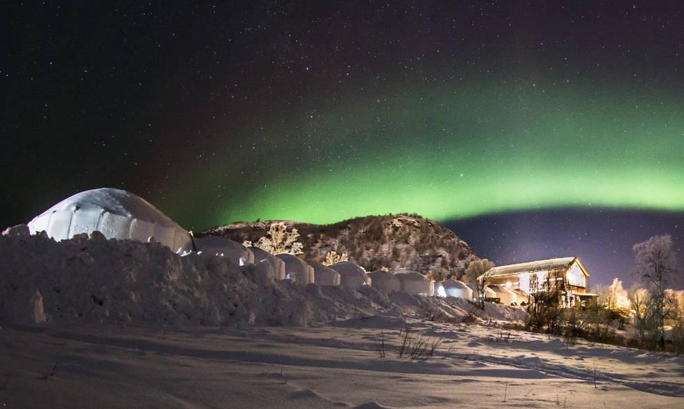 Snowhotel 365 overnight adventure, Kirkenes