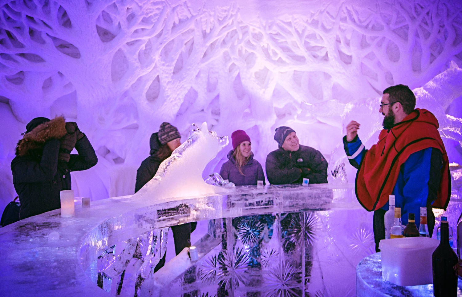 Icebar is open
