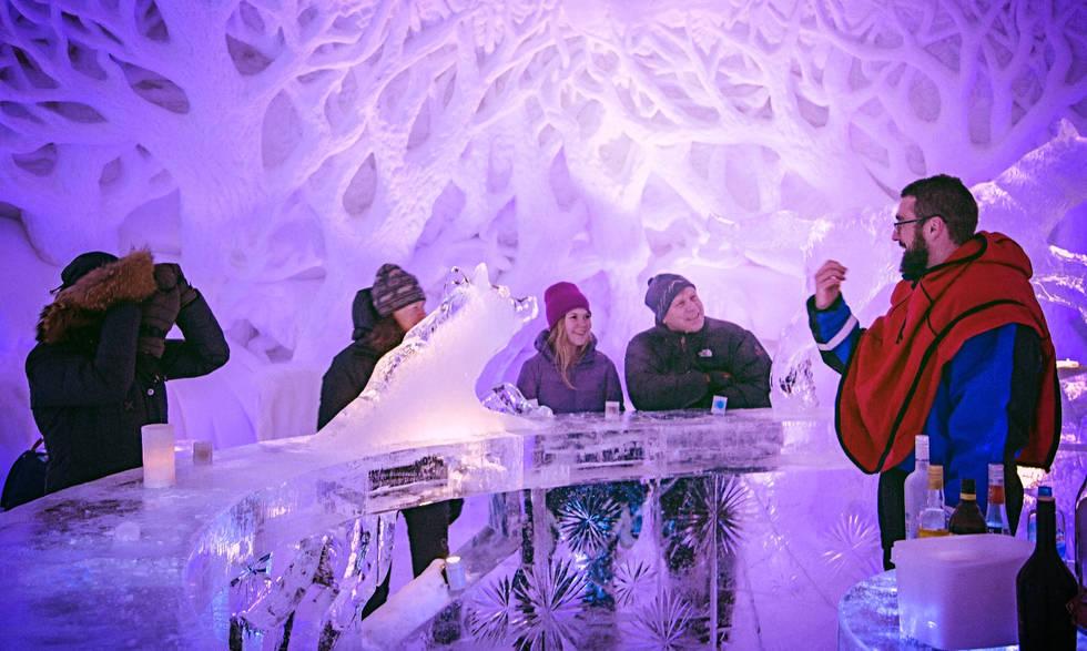 Icebar is open