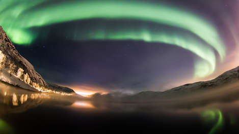 Northern Lights Snowhotel Kirkenes