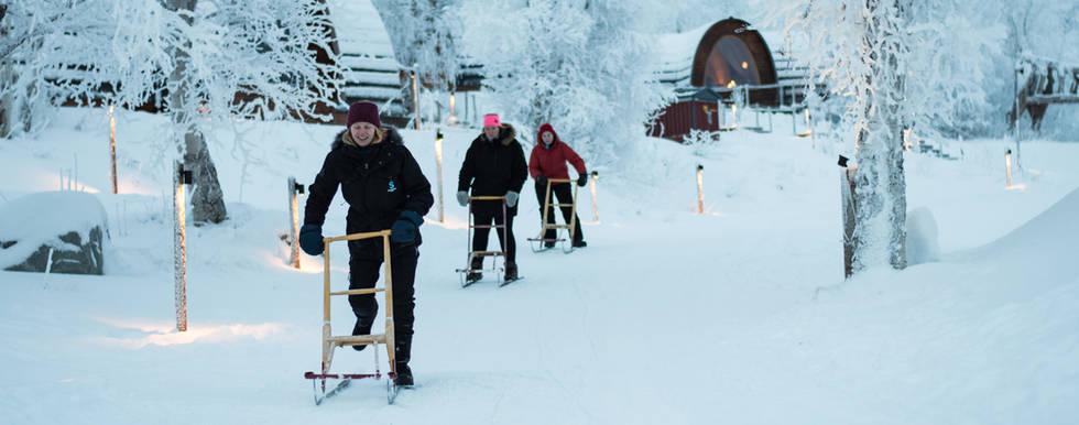 Snow fun Kirkenes