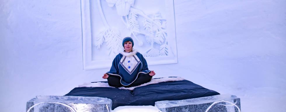 Snow Yoga Kirkenes