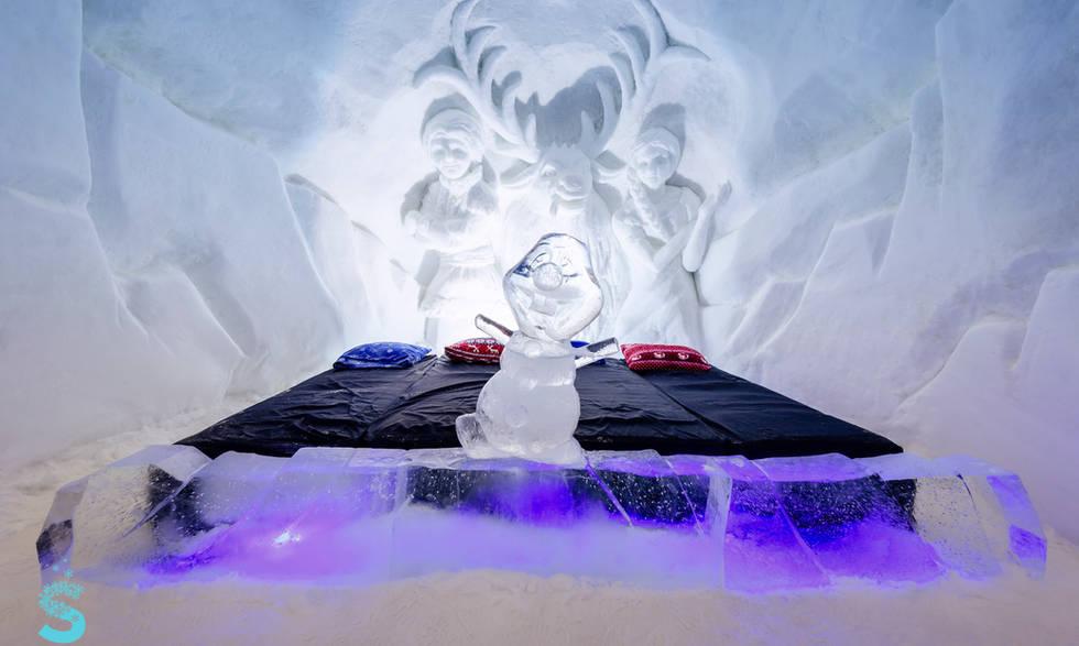 Snowhotel frozen