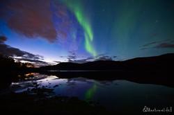 Summer Northern lights