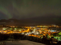 Kirkenes by night