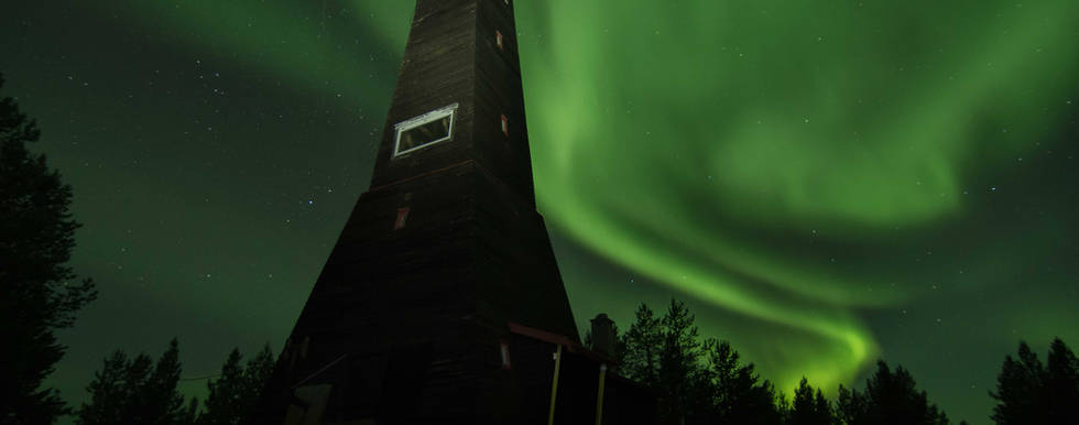 Northern lights in Kirkenes