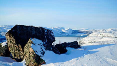 Landscape Snowhotel