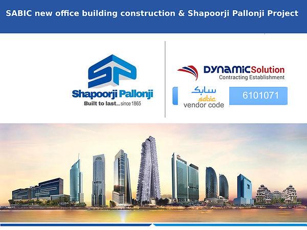 Shapoorji Pallonji Mideast LLC - SABIC J | dynamic-solution