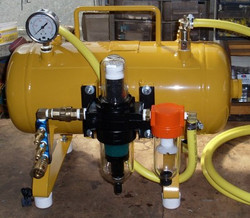 PORTABLE BACK UP BREATHING TANK