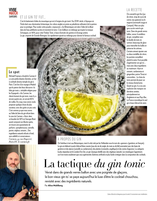 La tactique du Gin Tonic