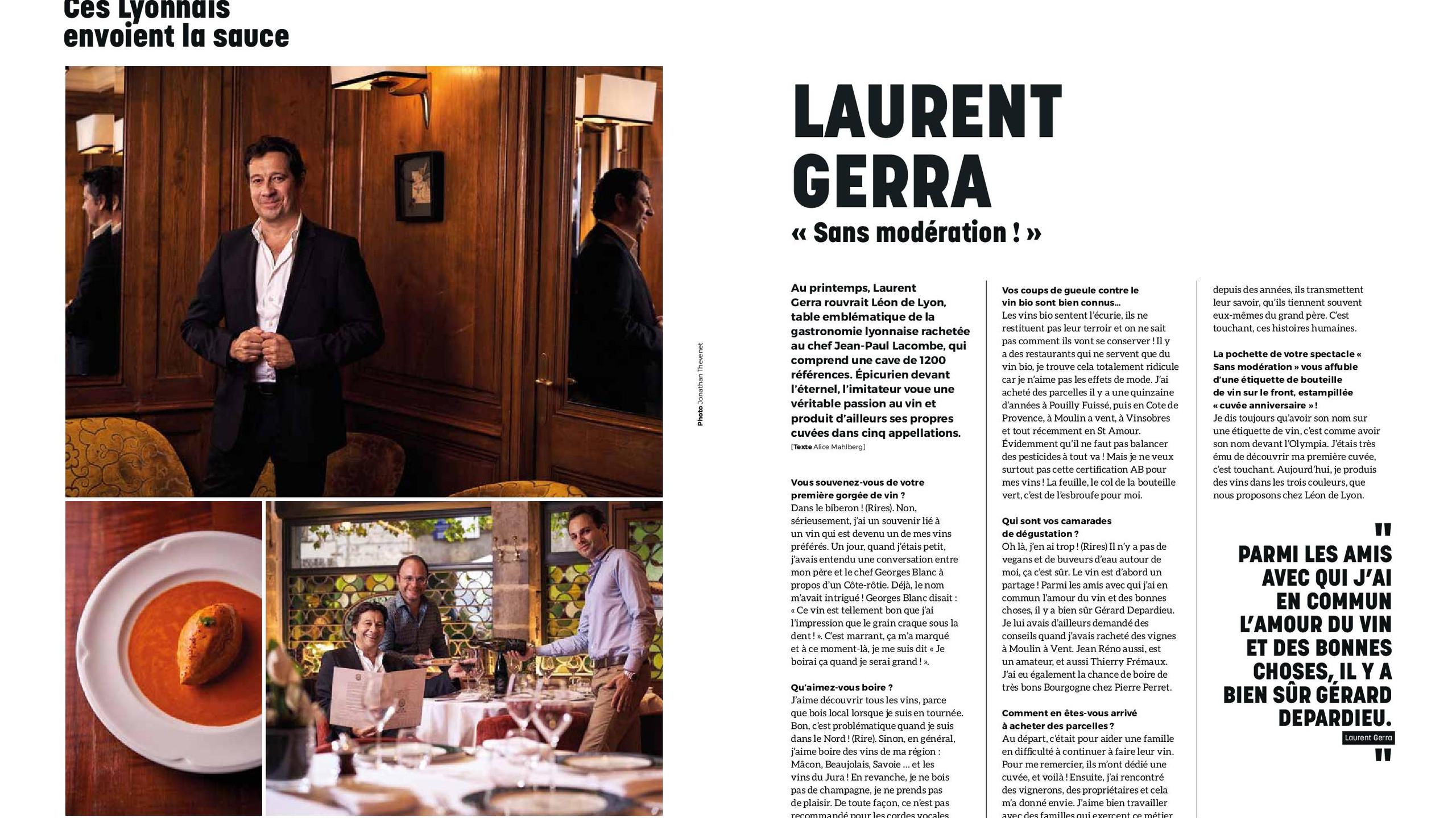 """Laurent Gerra """"Sans Modération !"""""""