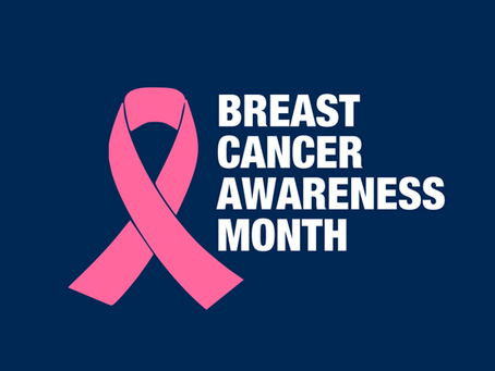 October is Breast Cancer Awareness Month--