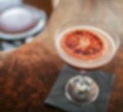 Cocktail with Orange Slice