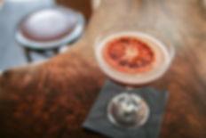 Cocktail mit Orange Slice