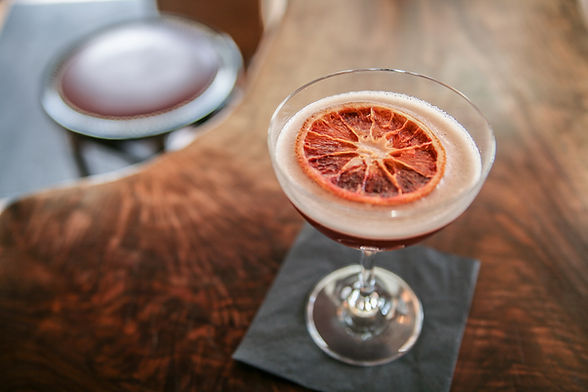Cocktail avec Orange Slice