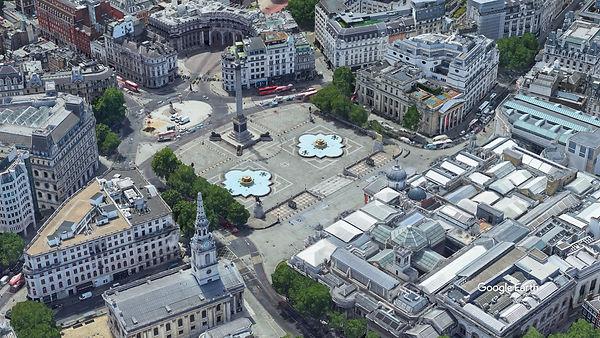 london, trafalgar square, arch, arch of triumph, replica, palmyra